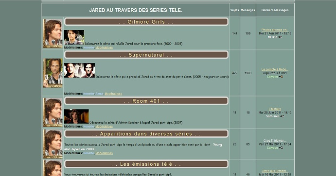 Les anciens designs du forum Jared710