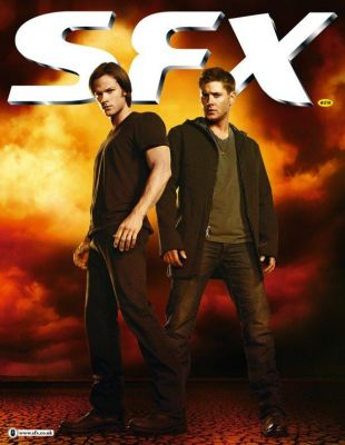 Supernatural fait la couverture de SFX Magazine Normal25