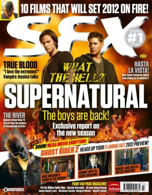 Supernatural fait la couverture de SFX Magazine Normal26