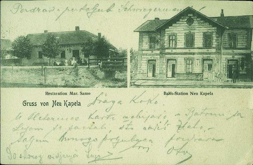 Kolodvori na razglednicama Novaka10
