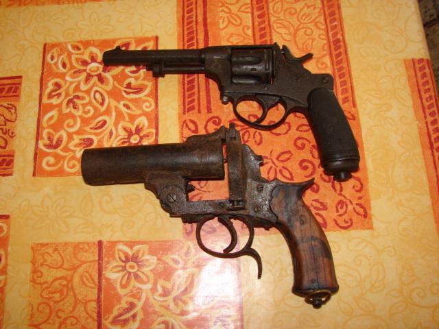 resto d'un revolver d'ordonnace suisse mod 1882 de fabrication belge  Dsc04948