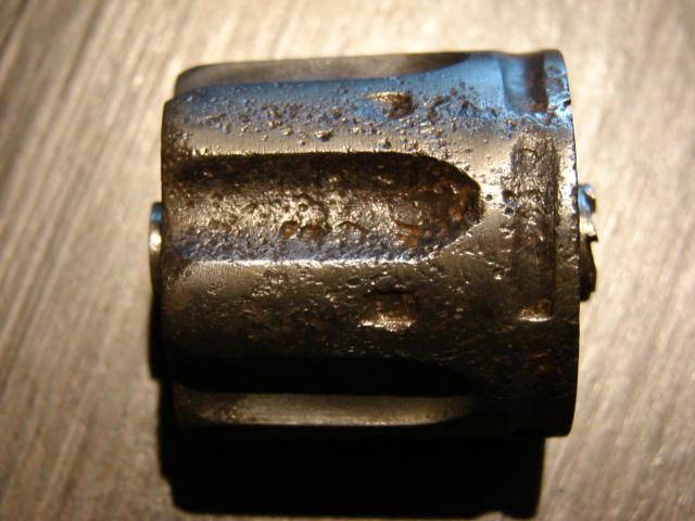 resto d'un revolver d'ordonnace suisse mod 1882 de fabrication belge  Dsc04957