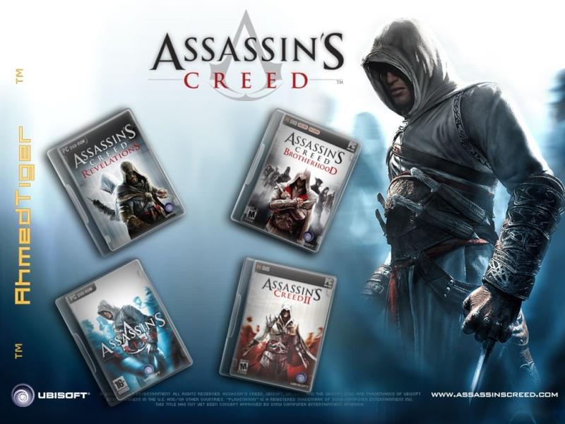 جميع اجزاء اللعبه الاسطوريه التى يعشقها الجميع والاشهر من نار على علم Assassin's Creed Bxdcx11