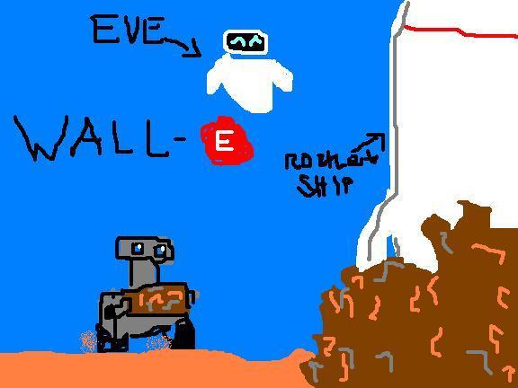 My incredible artwork Wall-e10
