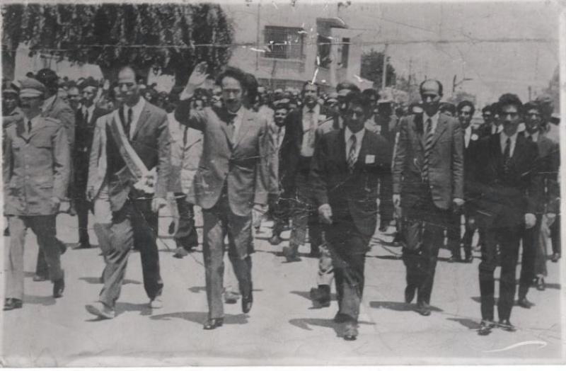 La visite du président Houari Boumediène à Ain M'lila Boumed10