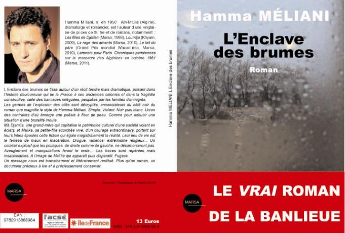 L'enclave des brumes, nouveau titre du romancier M'lili Hamma Meliani Hamma_17
