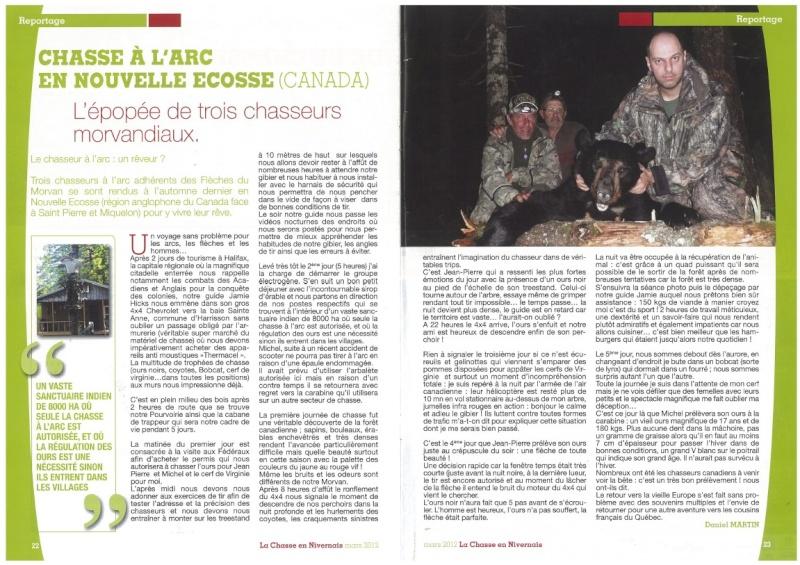 Un article dans la presse local qui relate mon voyage...  2012-010