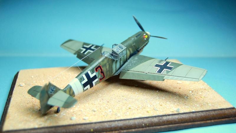 diorama   Messerschmitt Bf109 E-7 - le guépard - Airfix - 1/72 Armoir12