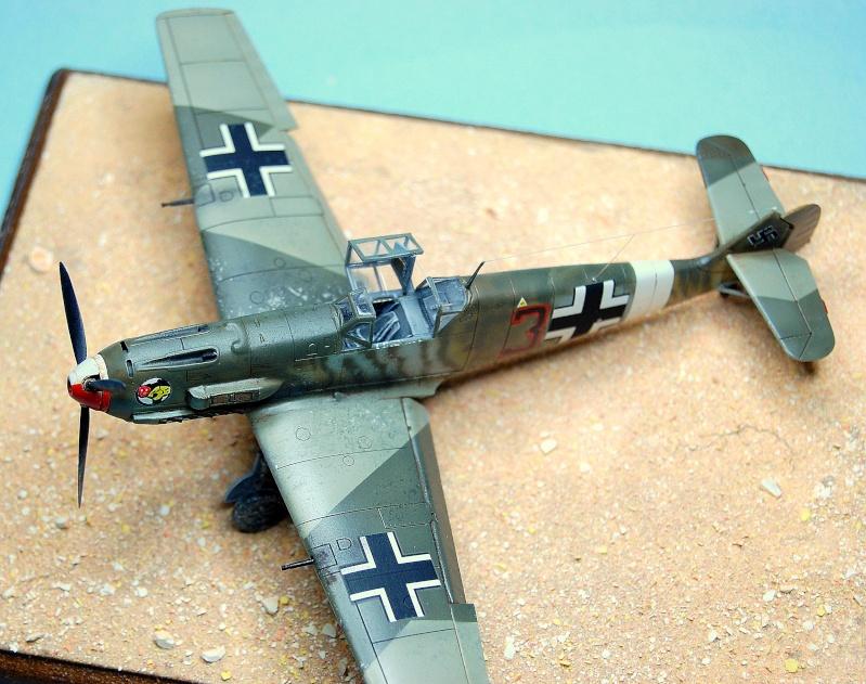 diorama   Messerschmitt Bf109 E-7 - le guépard - Airfix - 1/72 Armoir18