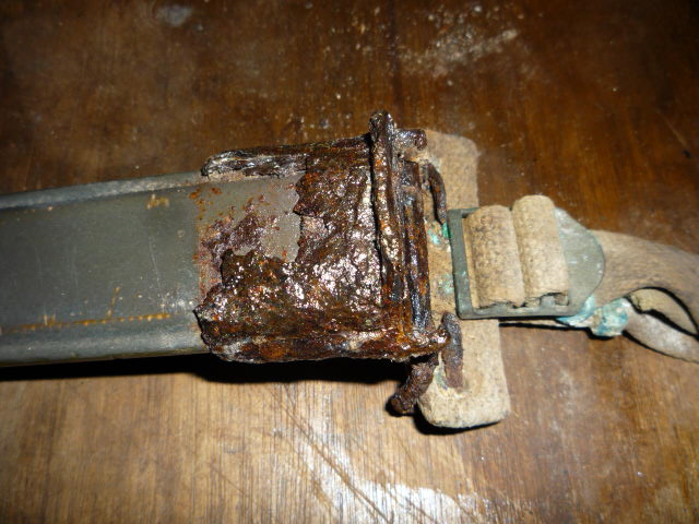 Conservation plaque feldgendarme P1030712