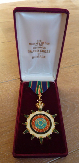 The Military Order Of The Ardennes, Grand Cross Of Homage. P1030742