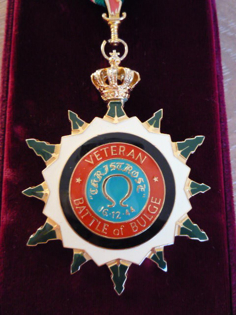 The Military Order Of The Ardennes, Grand Cross Of Homage. P1030743