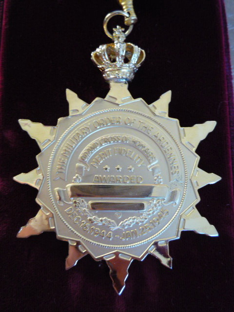 The Military Order Of The Ardennes, Grand Cross Of Homage. P1030744