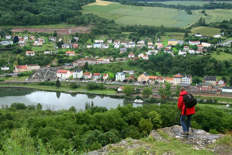 16 juin 2012:Sortie Château de Malbrouck et de Sierck, point de vue au Stromberg - photos d'ambiance Img_1715
