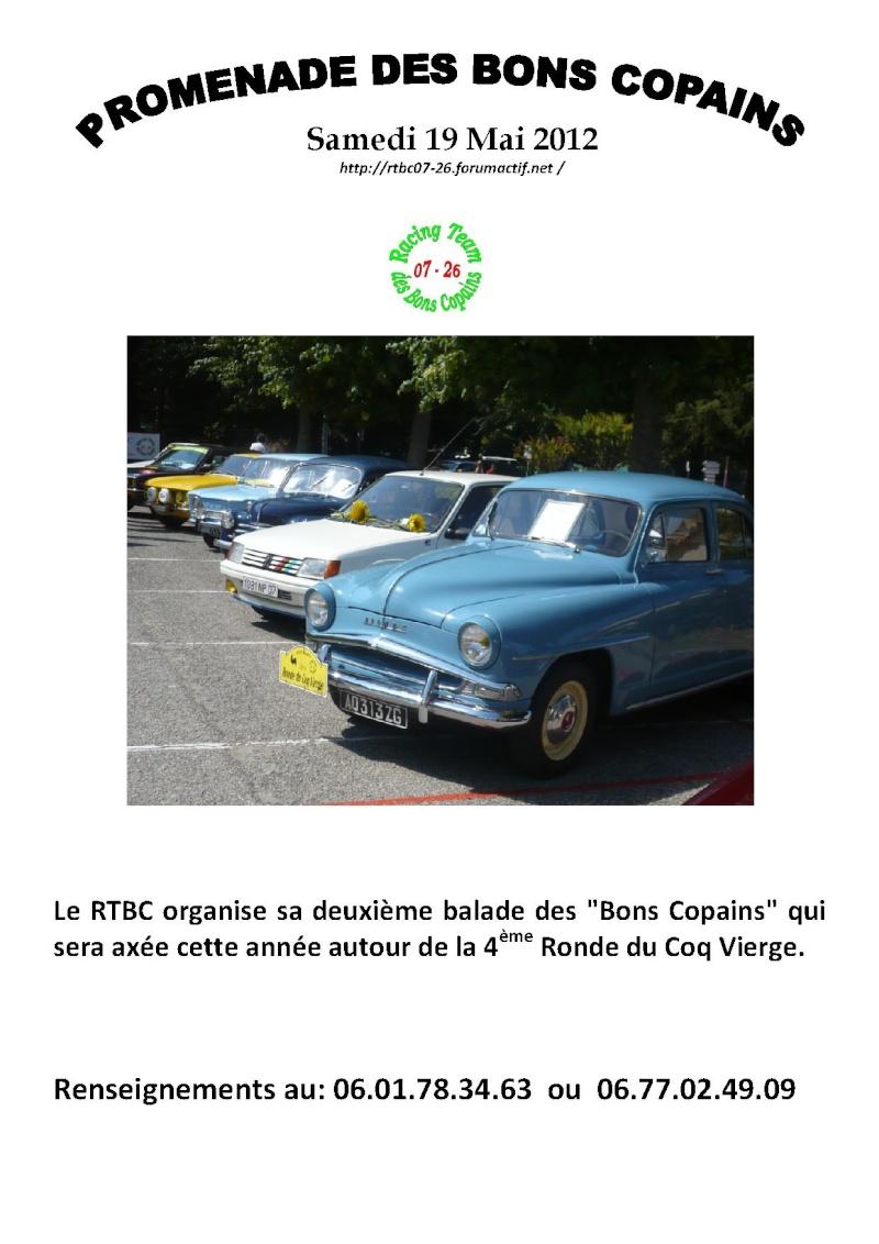 2 ème ballade des Bons Copains 19 Mai 2012 Affich11