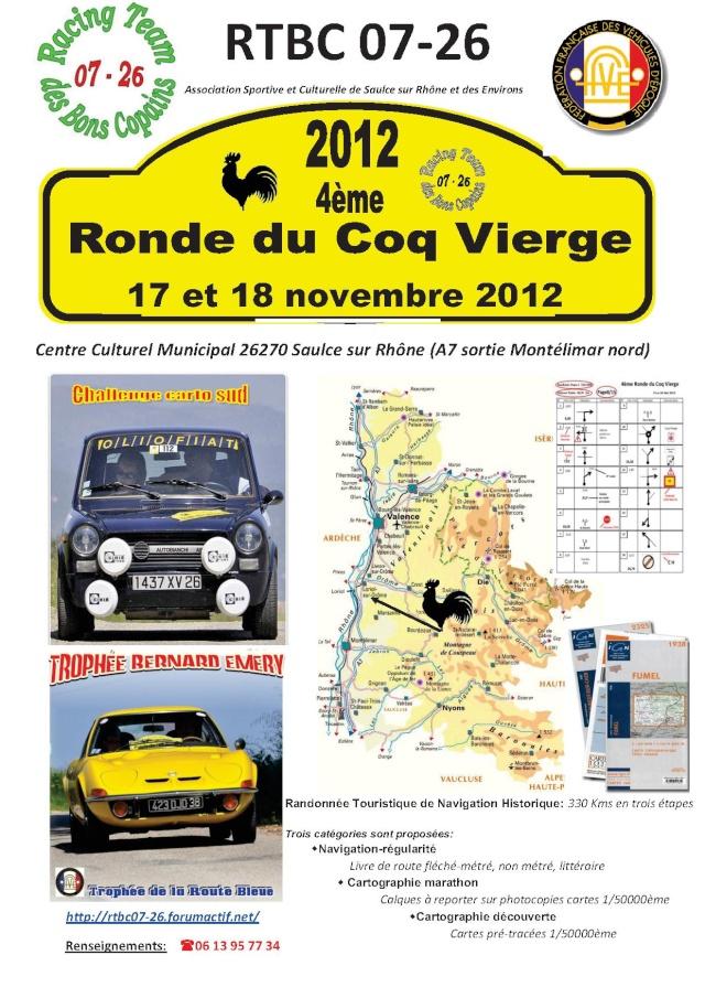 Ronde du Coq Vierge 2012 Affich13