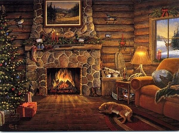 Au coin du feu Noel-a10