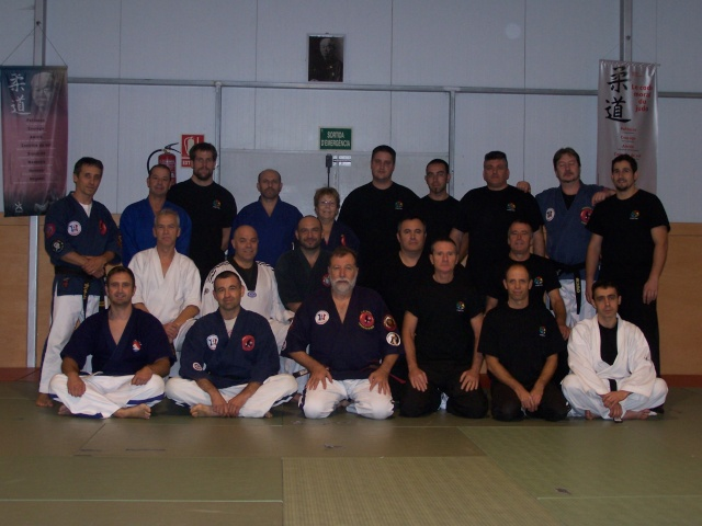 Formation Kyusho-Jitsu niv 2 à Palamos Espagne. 100_2210