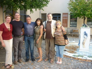 Gilbert Houseaux 7ème Dan USA à Limoges P1100710