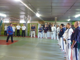 Gilbert Houseaux 7ème Dan USA à Limoges P1100723