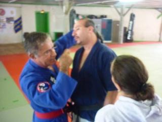 Gilbert Houseaux 7ème Dan USA à Limoges P1100725