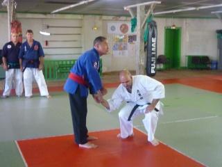 Gilbert Houseaux 7ème Dan USA à Limoges P1100726
