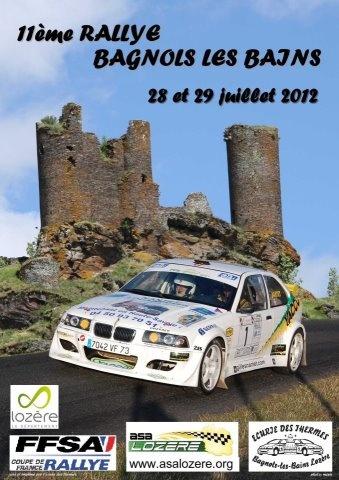 11e rallye Régional de Bagnols les Bains 2012 Bagnol14