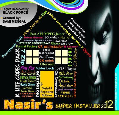 Computer Kings Corporation Quetta PRESENTS - Nasir's SUPER INSTALLER (Multi Bootable) Cd110