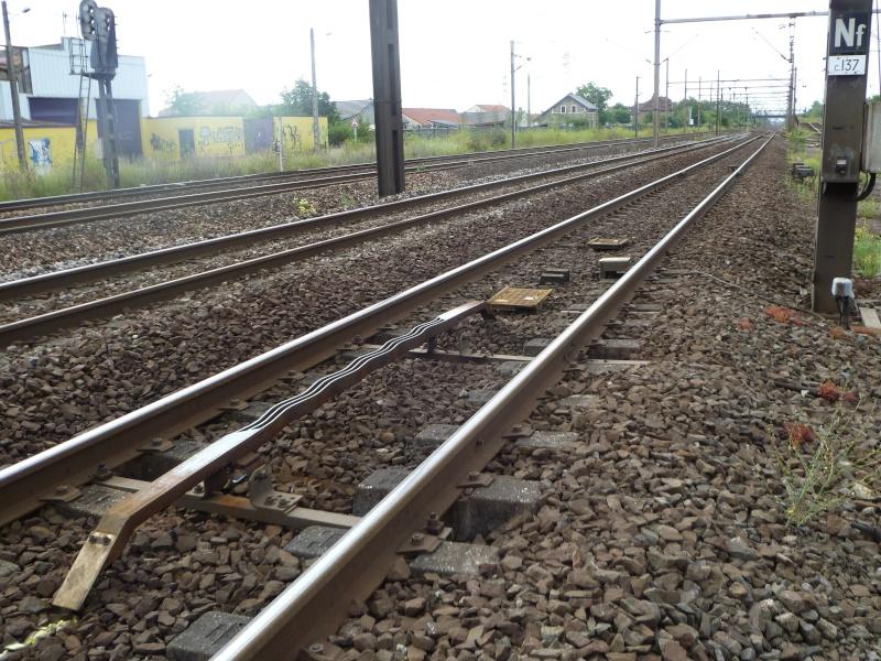 feux de voies de chemin de fer 1710