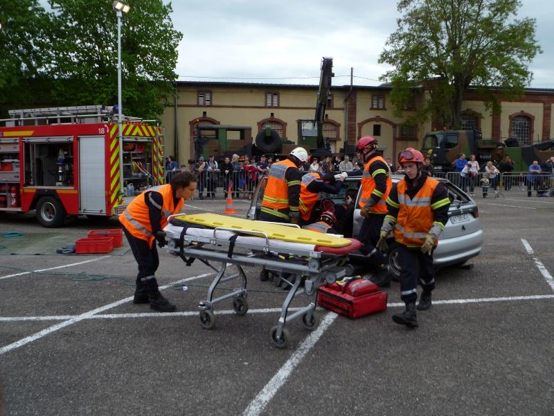 Portes ouvertes au groupement  de soutien 8 mai à Metz P1020629