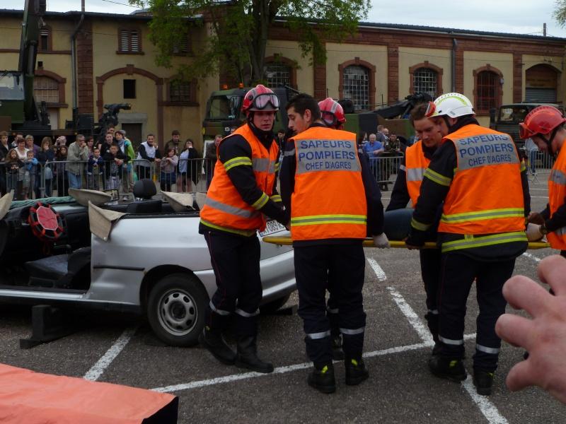 Portes ouvertes au groupement  de soutien 8 mai à Metz P1020635