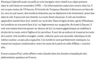 Un mystérieux ovni aperçu dans le ciel de Cahors, des témoins racontent Captur15