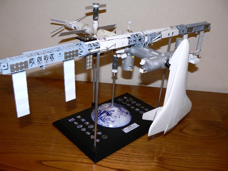 Construction d'une maquette de l'ISS P1210518