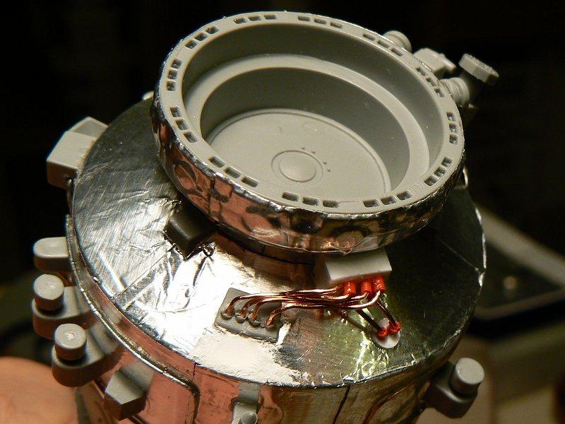 (Maquettes) Tiangong 1 - Shenzhou 9 P1220513