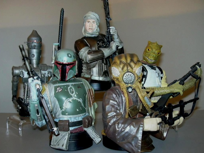 Gentle Giant - Zuckuss - Mini bust Bounty10