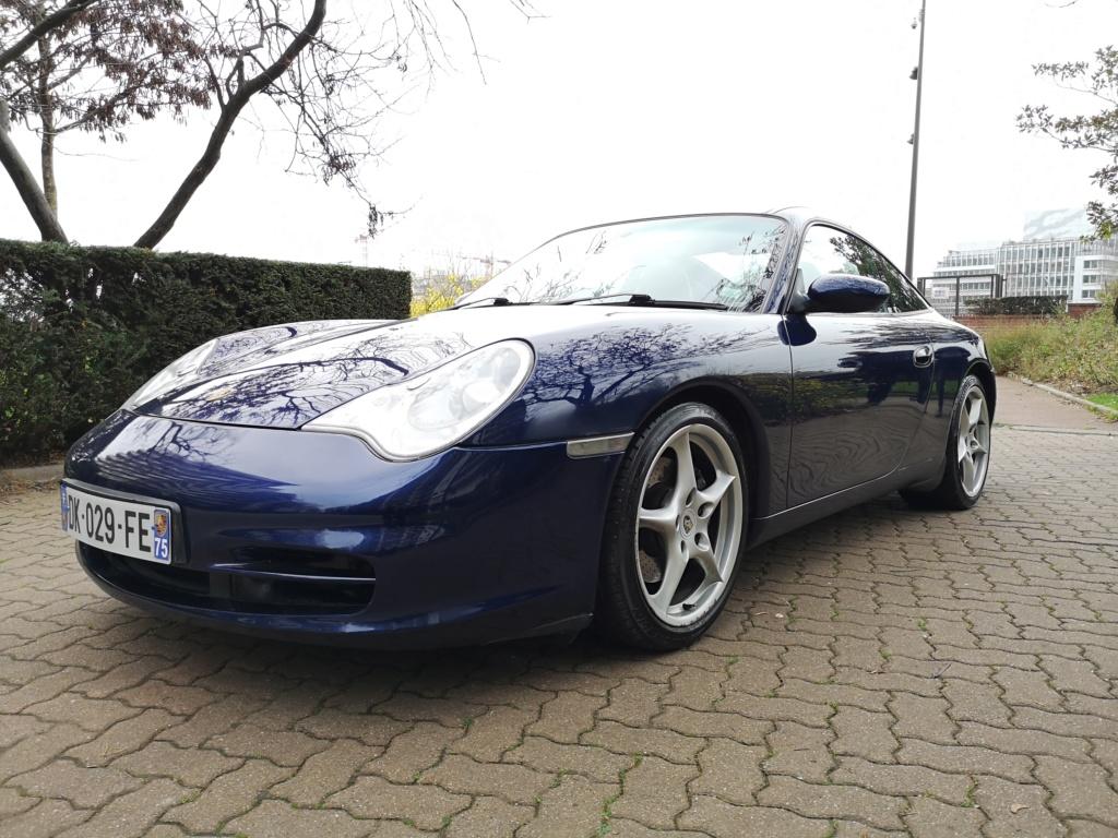 """Vente de ma 996 Targa RHD de 2002, 158500kms. Prix """"à la carte"""" ;-) 996-111"""