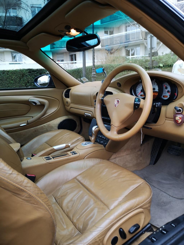 """Vente de ma 996 Targa RHD de 2002, 158500kms. Prix """"à la carte"""" ;-) 996-1110"""