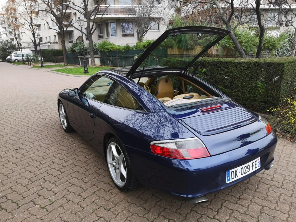 """Vente de ma 996 Targa RHD de 2002, 158500kms. Prix """"à la carte"""" ;-) 996-1610"""