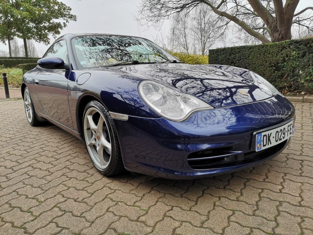 """Vente de ma 996 Targa RHD de 2002, 158500kms. Prix """"à la carte"""" ;-) 996-210"""