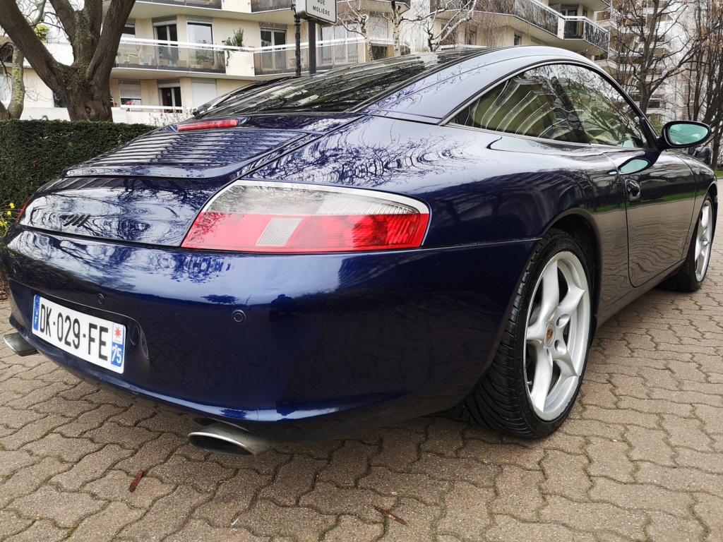 """Vente de ma 996 Targa RHD de 2002, 158500kms. Prix """"à la carte"""" ;-) 996-410"""