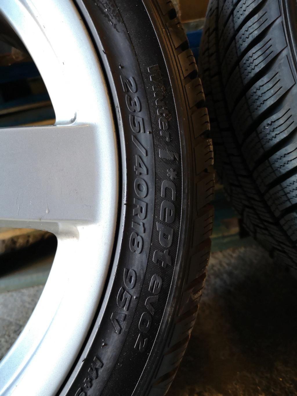 4 jantes origine Cayman S, avec une monte de pneus hiver quasi neufs Img_2018
