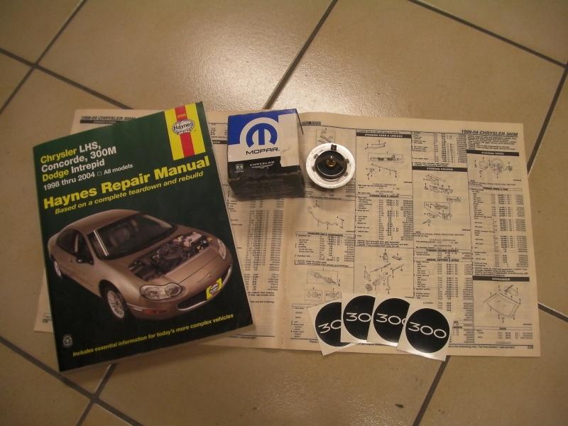 Calorstat Chrysler 300M 2.7l V6 +Doc technique Sany0311