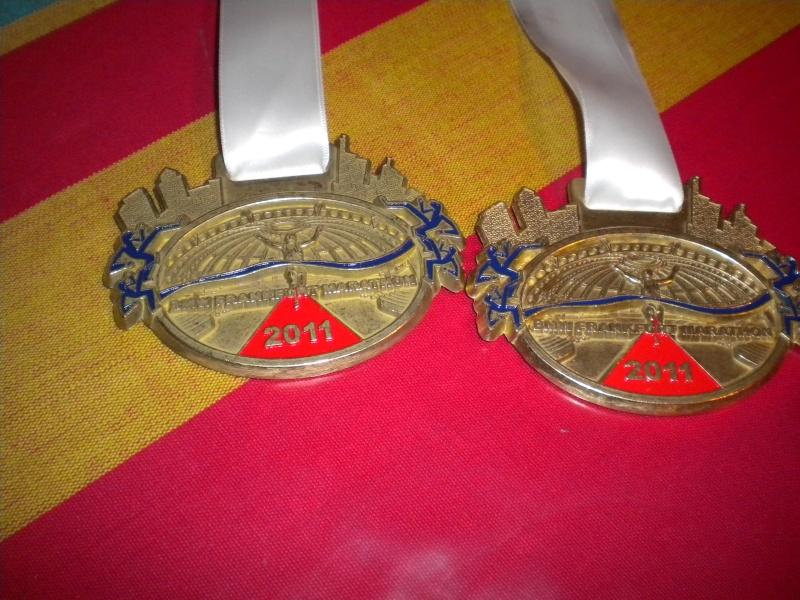 JP et ISA au marathon Francfort le 30 octobre Dscn7012