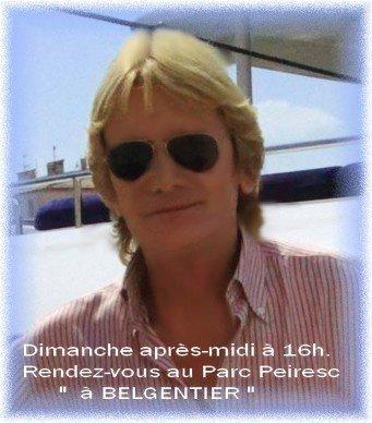 Le sosie de Claude François bientôt à Belgentier Bel10
