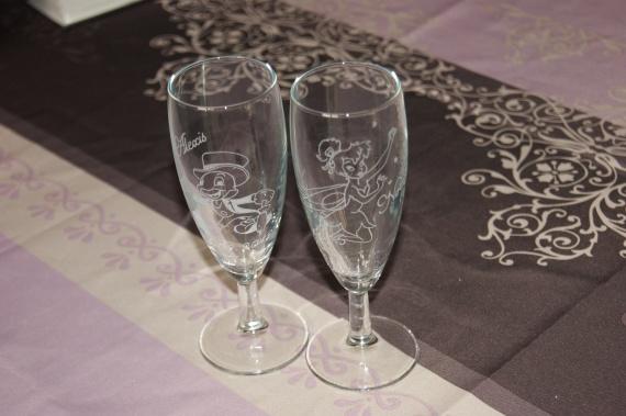Mariage 22 Septembre 2012 thème DISNEY Flute10