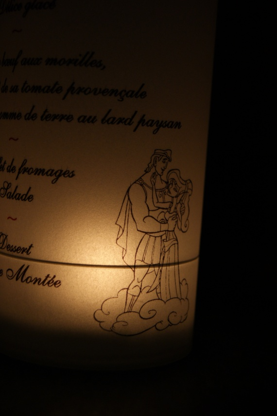 Mariage 22 Septembre 2012 thème DISNEY Menu211