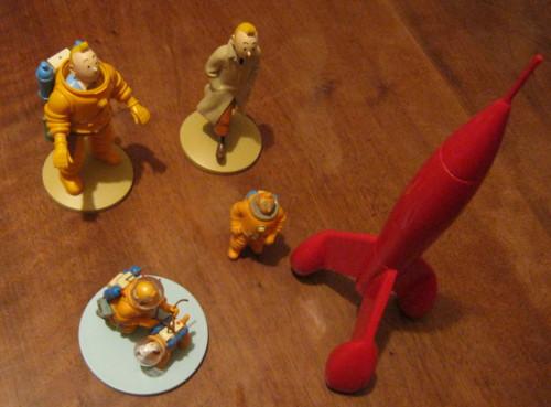 (Collection) Figurine Tintin Lunaire Img_0810