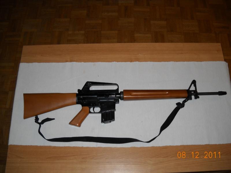 Black rifle Armi Jager AP74 Dscn0510