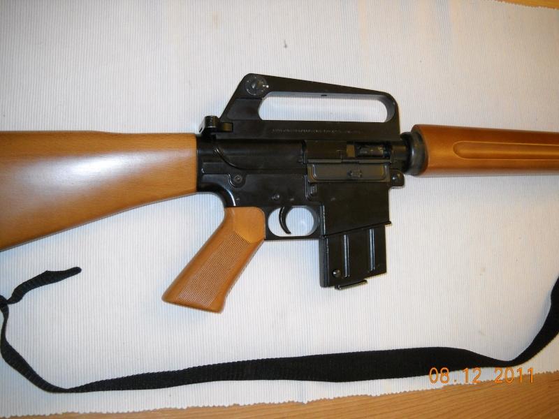 Black rifle Armi Jager AP74 Dscn0511