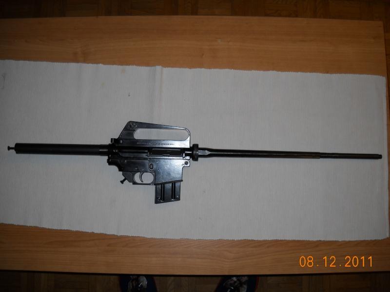 Black rifle Armi Jager AP74 Dscn0518